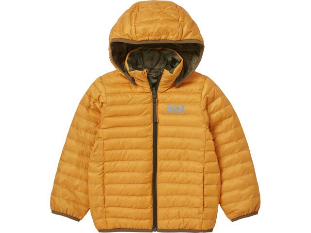 Helly Hansen Storm Reversible Insulator Jacket Kids, golden glow